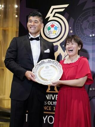 国際柔道連盟、五輪覇者を表彰