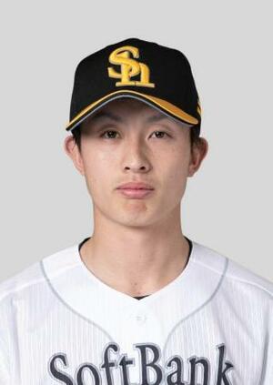 ソフトバンクの周東佑京内野手