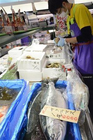 県内の新鮮な水産物を集めた「あおもりの肴フェア」