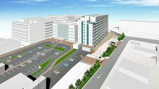 弘大病院新第1病棟、2023年5月稼働予定