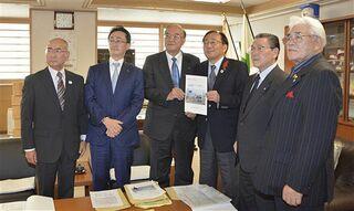 現・旧首長「東青連合」が知事に要望活動