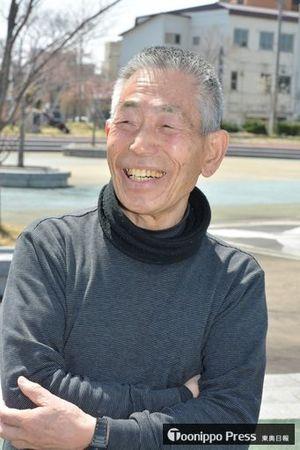 マスターズ陸上のM85クラスで100、200mの世界記録を持つ86歳の田中さん