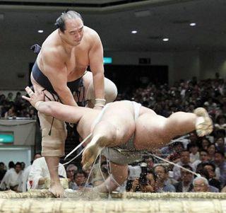 安美錦、通算出場1731回/大相撲
