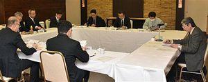 未利用熱活用モデル事業について検討する委員会=19日、青森市
