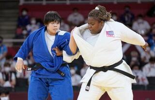 柔道女子、素根輝が金メダル