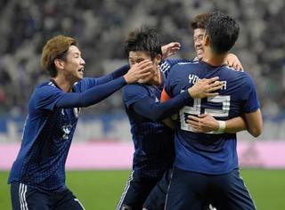 サッカー、日本1―1で引き分け