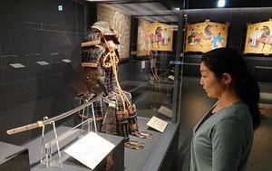 弘前藩歴史館で開かれている刀剣展