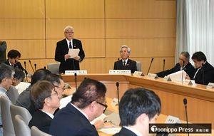 弘前観桜会100周年記念事業について話し合った実行委会合