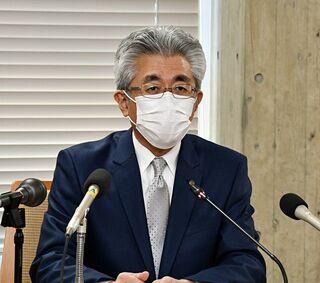 市中感染なら県へ聖火中止相談/弘前市長