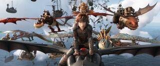 アニメーション映画『ヒックとドラゴン』最新作、邦題&12・20公開決定