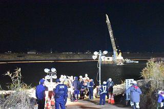つがる市の岩木川で作業ボート転覆1人死亡