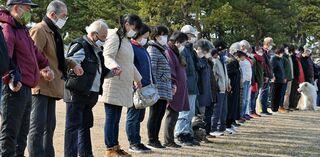 震災から10年、青森県内各地で追悼