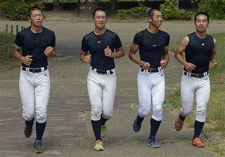 光星、打撃練習に汗 投手陣は軽めの調整/全国高校野球選手権