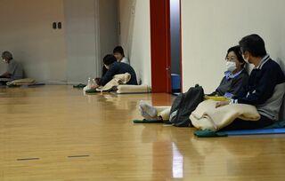 青森県南大雨 避難所もコロナ対応