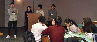 学生が独自政策提案 高レベル廃棄物最終処分 六ケ所を視察、意見交換