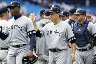 大リーグ、ヤンキースが最高勝率