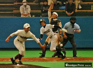 弘高野球部、鳳鳴高120周年記念試合で熱戦