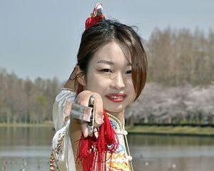 青森国スポに照準を合わせ、技術を「もっと深めたい」と意気込む小田桐さん