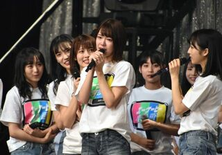 AKB48チーム8、47都道府県ツアーファイナルは横浜アリーナ 神奈川代表・小田えりなが感涙
