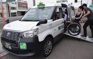 三八五観光タクシー(青森市)が導入したJPNタクシー