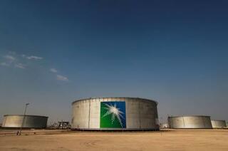 サウジ国営石油、73%減益に