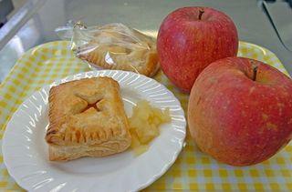 五農「GAPリンゴ」五輪合宿で提供