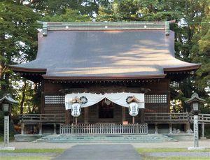 弘前市にある青森県護国神社。奉賛会の会員減少が課題となっている
