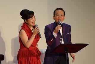 円満夫婦物語湯原昌幸&荒木由美子トーク&歌謡ショーが開催されました