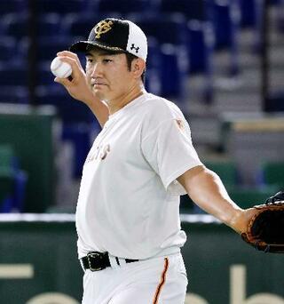 巨人の菅野が開幕投手へ意気込み