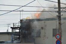 青森で住宅全焼 2人死亡/同居の母娘か