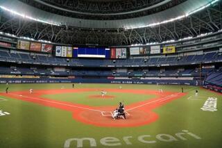 プロ野球で紅白戦、大阪と福岡