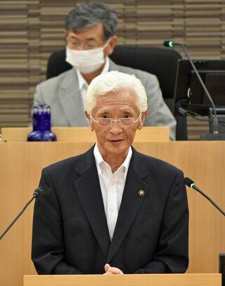 現職小山田氏が出馬表明/十和田市長選