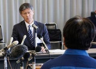 東電原発所長が市長に謝罪、新潟