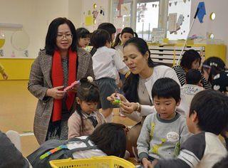 教育、看護でアジアと交流/青森中央学院大・短大 ベトナム、タイから視察・見学