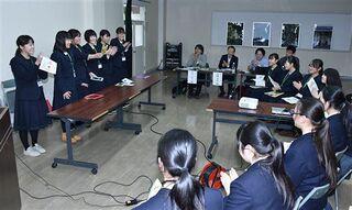 地域資源をビジネスに 鯵ケ沢、中泊2高校発表