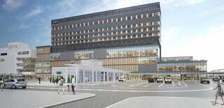 ホテルに健康増進機能 青森駅跡複合ビル