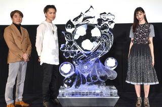 登坂広臣&中条あやみがサプライズ連発 ファンの歓声に驚き「そんなに?」