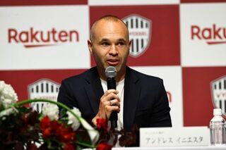 """イニエスタ、J1神戸は""""第2の故郷"""" 選手キャリアは「ここで最後まで続けていきたい」"""