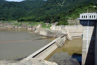 津軽ダムのかんがい取水量2割減継続へ