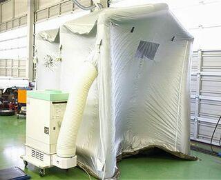 空気清浄機 感染対策に/八工大、八戸市民病院に貸与