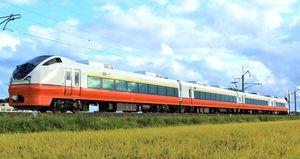 約19年ぶりに「スーパーはつかり」として青森-盛岡間を走行することが発表されたE751系(JR東日本青森支店提供)