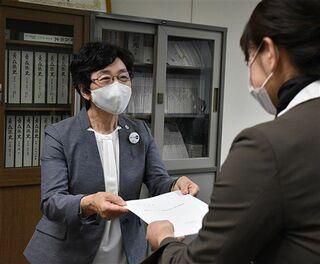 コロナ危険手当など助成要望/青森県看護協会