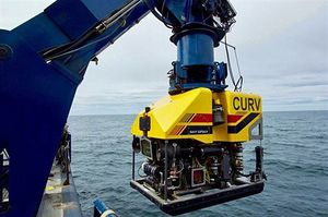 米海軍がF35A捜索に使った海中無人探査機CURV21(米海軍第7艦隊ホームページより)