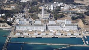 福島県楢葉町と富岡町にまたがる東京電力福島第2原発