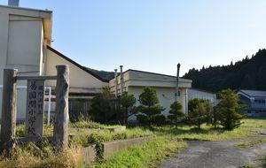 役場庁舎を移転・新築する予定だった易国間小学校の敷地