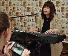 たっこ王子の応援歌できたよ♪/八戸市のシンガーソングライターmeguさん