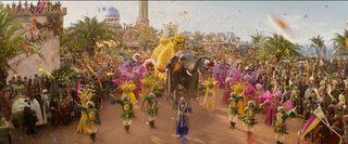 ミスター・ジーニーこと山寺宏一、『アラジン』の豪華パレードで高らかに歌い上げる映像解禁
