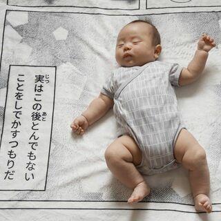 「相変わらずの親バカよのう…」赤ちゃんの寝姿が一瞬でコミカルな漫画に、目指した「笑って楽しめるものづくり」