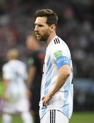 アルゼンチンのメッシ