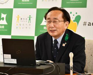 ワクチンの配送日程「具体的情報迅速に」/三村知事、国に提供求める